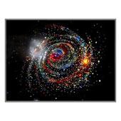 """Картина из кристаллов Сваровски """"Большая галактика"""" Цена: 23400 руб."""