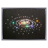 """Картина из кристаллов Сваровски """"Малая галактика"""" Цена: 2950 руб."""