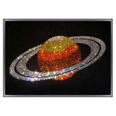 """Картина из кристаллов Сваровски """"Сатурн"""" Цена: 20800 руб."""