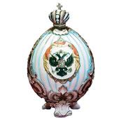 "Штоф ""Яйцо Фаберже"" (2 варианта) Цена: 8400 руб."
