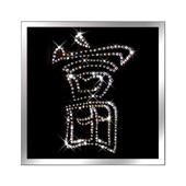 """Картина из кристаллов Сваровски """"Богатство"""" Цена: 3800 руб."""