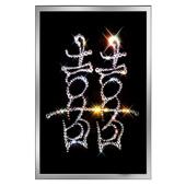 """Картина из кристаллов Сваровски """"Двойное счастье"""" Цена: 4050 руб."""