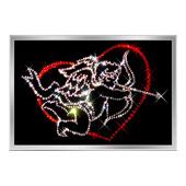 «Амур» (2 картины) Цена: 5400 руб.