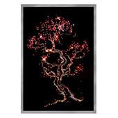 Картина из кристаллов Сваровски «Дерево сакуры» Цена: 6450 руб.