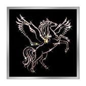 Картина из кристаллов Сваровски «Пегас» Цена: 6200 руб.