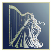 "Картина из кристаллов Сваровски ""Муза гармонии"" (на зеркале) Цена: 5300 руб."