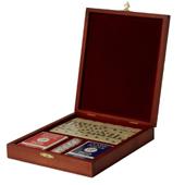 Набор игр в деревянной шкатулке Цена: 3500 руб.
