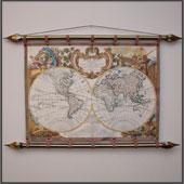 Старинная карта  № 2 (кожа) Цена: 8000 руб.