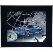 "Картина с кристаллами Свароски-""Дороги"" Цена: 11950 руб."