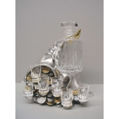 Набор для водки «Рог изобилия» Цена: 36850 руб.