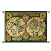 Карта мира №5 (17-18 век) Цена: 9700 руб.