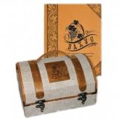 """Подарочный набор """"Бахус. Об искусстве для знатоков вина, о вине для знатоков искусства"""" Цена: 13200 руб."""