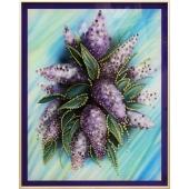 """Картина из кристалов Swarovski - """"Сирень"""" Цена: 11350 руб."""