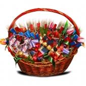 """Букет из конфет """"С Юбилеем"""" Цена: 8500 руб."""