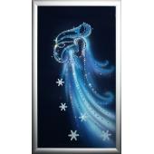 Картина из кристаллов Swarovski Танец зимы Цена: 11300 руб.