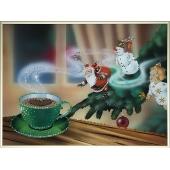 Картина из кристаллов Swarovski Аромат зимы Цена: 13950 руб.