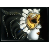 Картина из кристаллов Swarovski Маска Цена: 10300 руб.