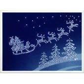 Картина из кристаллов Swarovski Сказка под Рождество Цена: 9700 руб.
