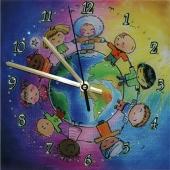 """Часы с кристаллами Swarovski """"Мы вместе"""" Цена: 5180 руб."""