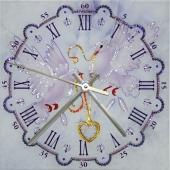 "Часы с кристаллами Swarovski ""Голуби"" Цена: 14150 руб."