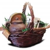 "Подарочный корзина ""Декор бамбук"" Цена: 3700 руб."