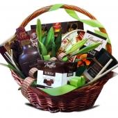 """Подарочный корзина """"Мятный шоколад"""" Цена: 7790 руб."""