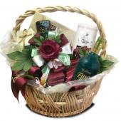 """Подарочный корзина """"Венецианская роза"""" Цена: 6700 руб."""