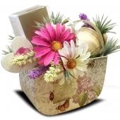 """Подарочный корзина """"Сладкая весна"""" Цена: 2650 руб."""